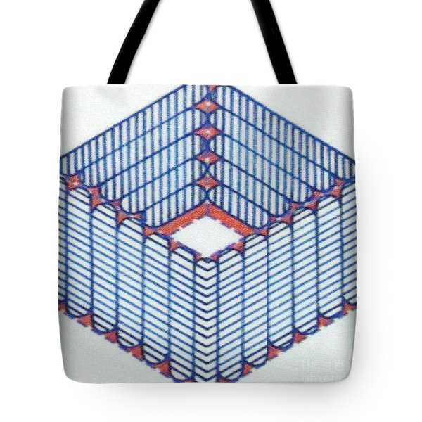 Tote Bag featuring the drawing Rfb1014 by Robert F Battles
