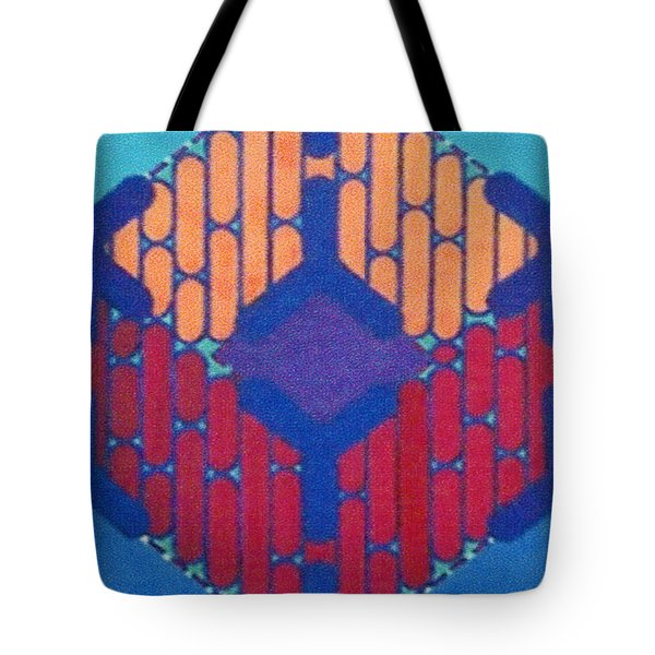 Tote Bag featuring the drawing Rfb1015 by Robert F Battles