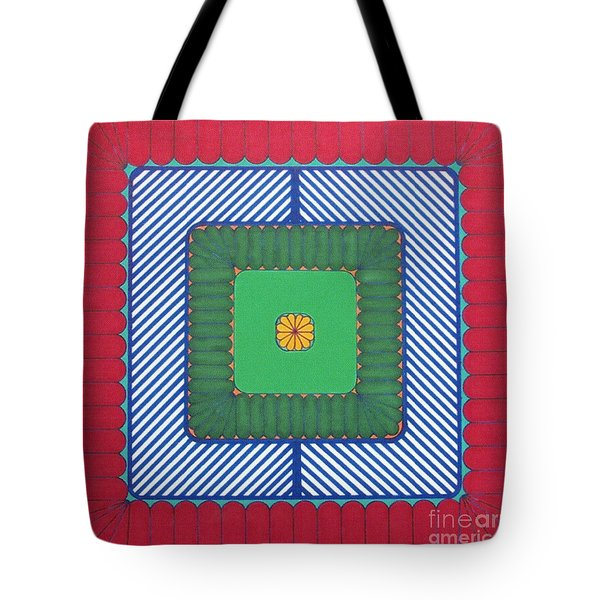 Tote Bag featuring the drawing Rfb1029 by Robert F Battles