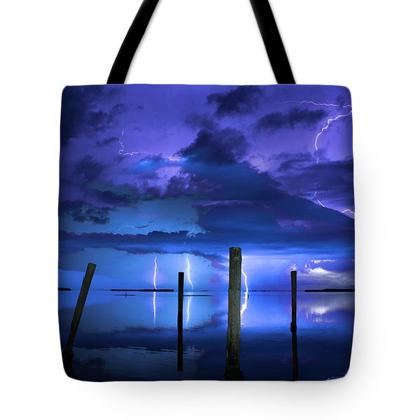Blue Nights Tote Bag
