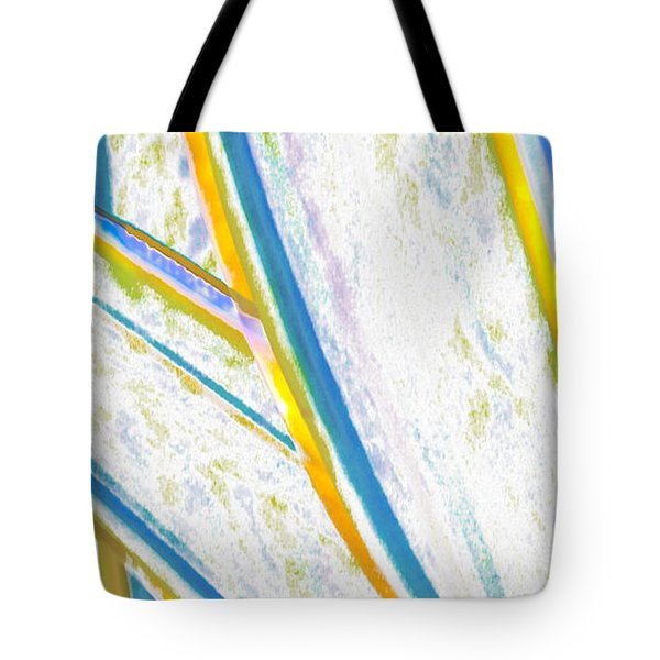 Tote Bag featuring the digital art Rhapsody In Leaves No 2 by Ben and Raisa Gertsberg