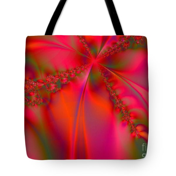Rhapsody In Red Tote Bag