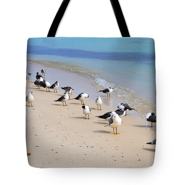 Rhapsody In Seabird Tote Bag