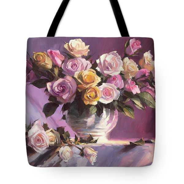 Rhapsody Of Roses Tote Bag