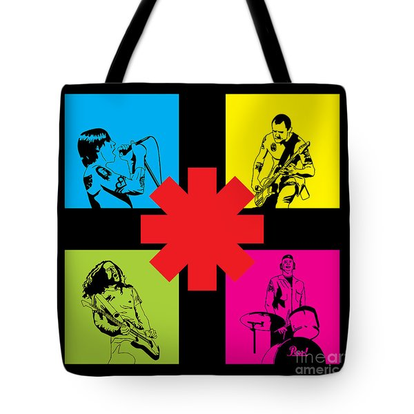 Rhcp No.01 Tote Bag