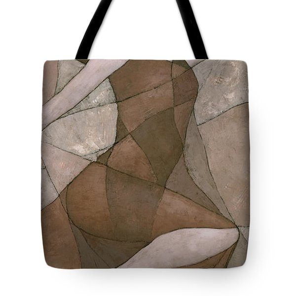 Tote Bag featuring the painting Rhea by Steve Mitchell