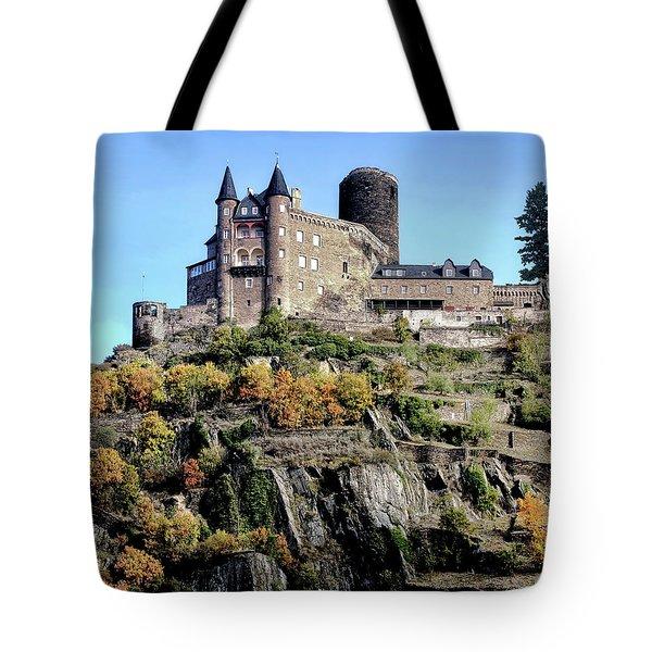 Rhine Gorge Tote Bag