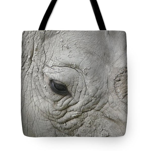 Rhino Eye Tote Bag