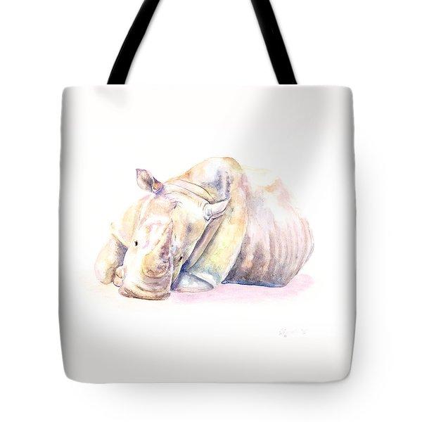 Rhino Two Tote Bag