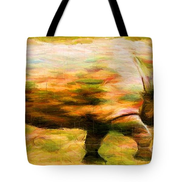 Rhinocerace Tote Bag by Caito Junqueira
