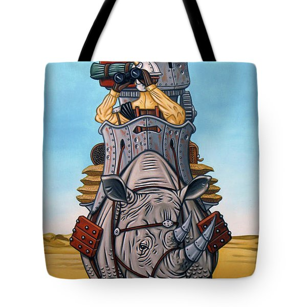 Rhinoceros Riders Tote Bag