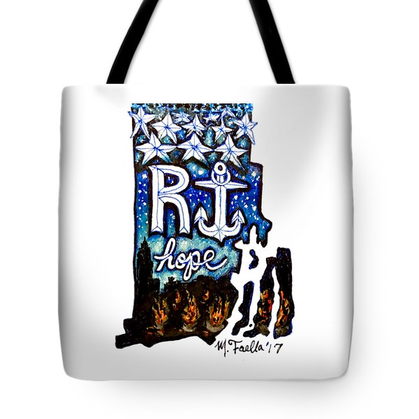 Rhode Island, Hope Tote Bag
