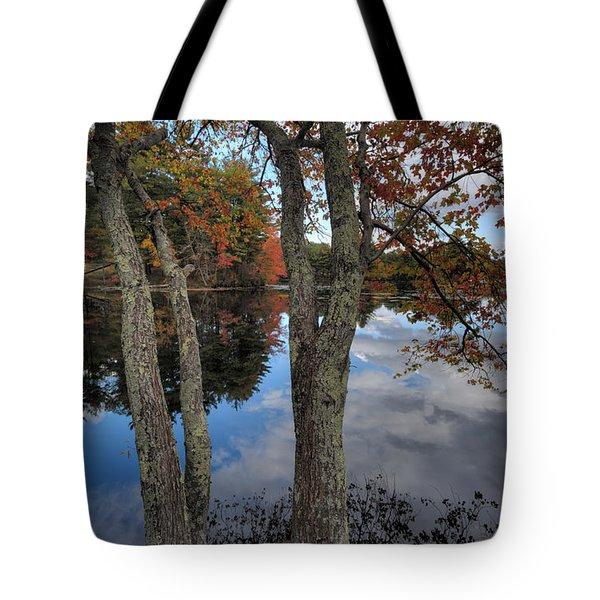 Rhode Island Pond Tote Bag