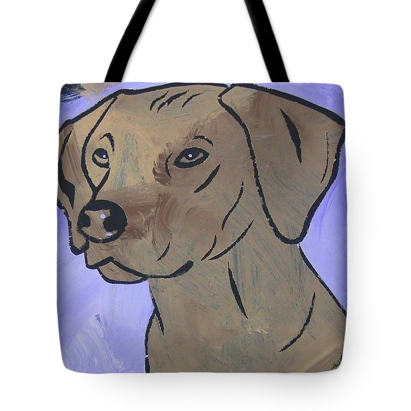 Tote Bag featuring the painting Rhodesian Ridgeback by Candace Shrope