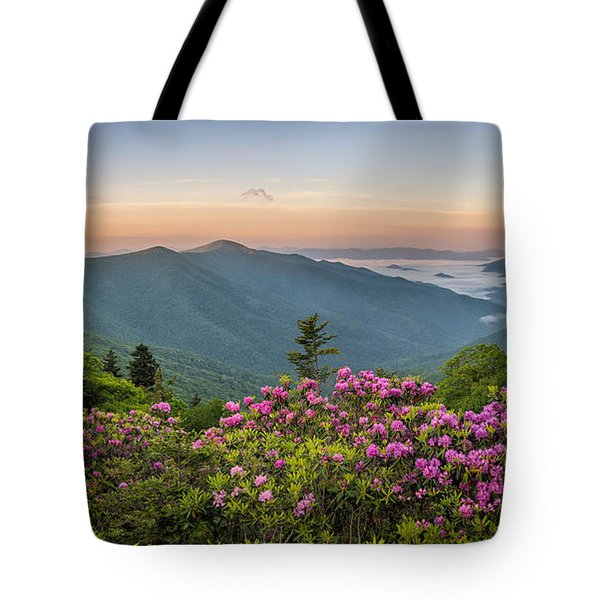 Rhodo Bend Tote Bag by Anthony Heflin