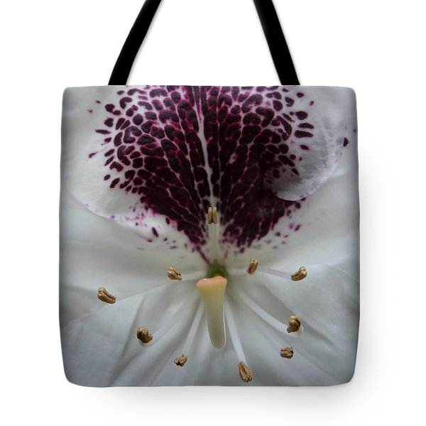 Rhododendron 2 Tote Bag by Jean Bernard Roussilhe