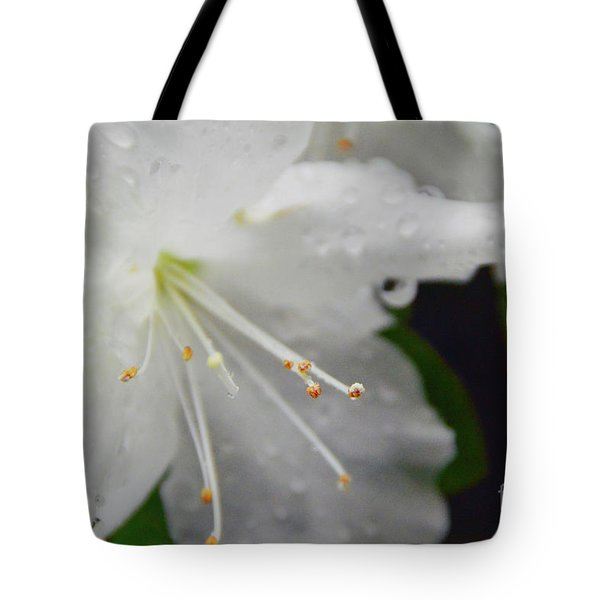 Rhododendron Blossom Tote Bag