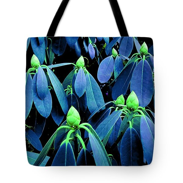 Rhododendron Buds In Spring Tote Bag