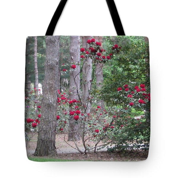 Rhododendrons In Lorain County Tote Bag
