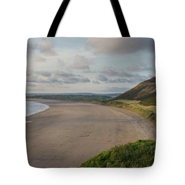 Rhossili Bay, South Wales Tote Bag
