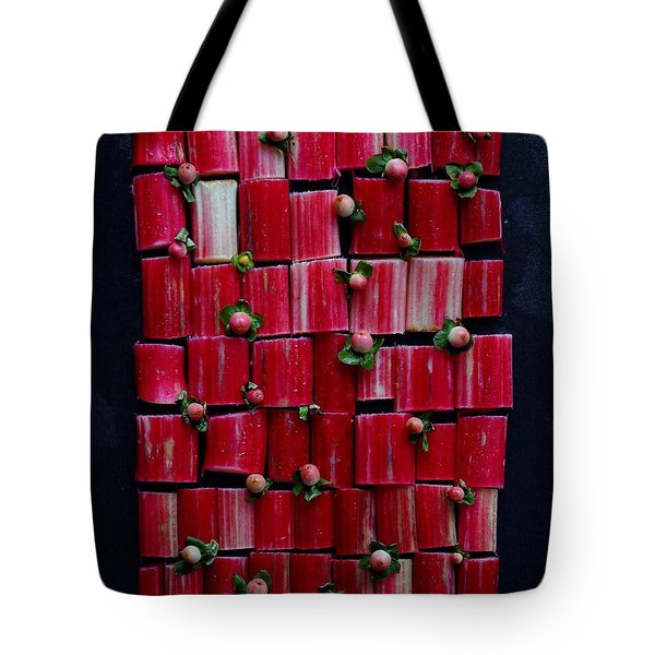 Rhubarb Wall Tote Bag