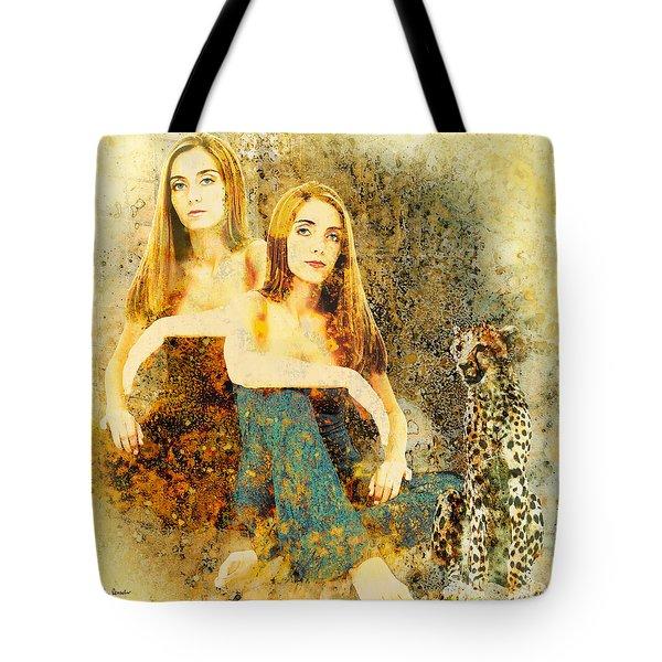 Rhyme Tote Bag by Van Renselar