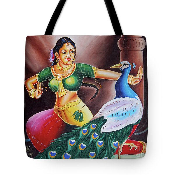 Rhythms Of Tradition Tote Bag by Ragunath Venkatraman