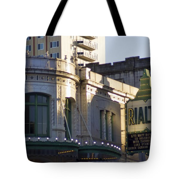 Rialto Tacoma Tote Bag by Cathy Anderson