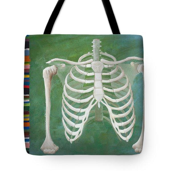 Ribbing  Tote Bag by Sara Young