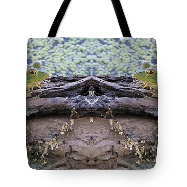 Ribbit And Ribbit Tote Bag