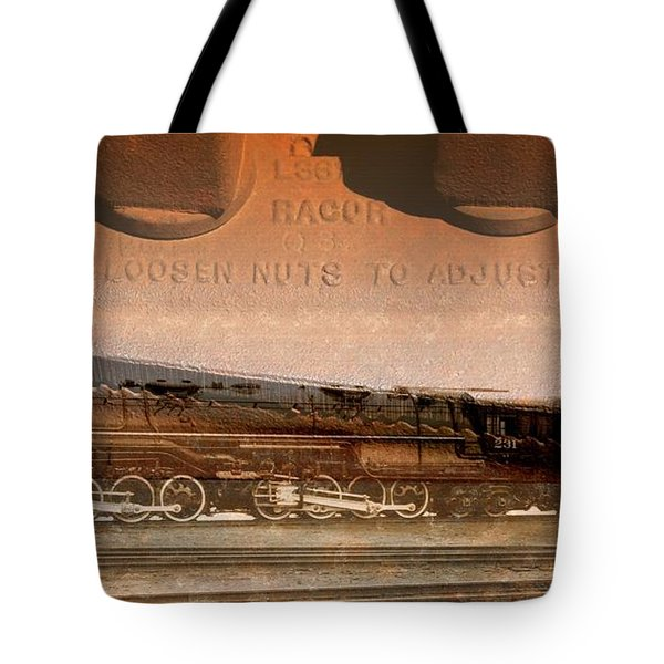Ribbon Of Steel Tote Bag