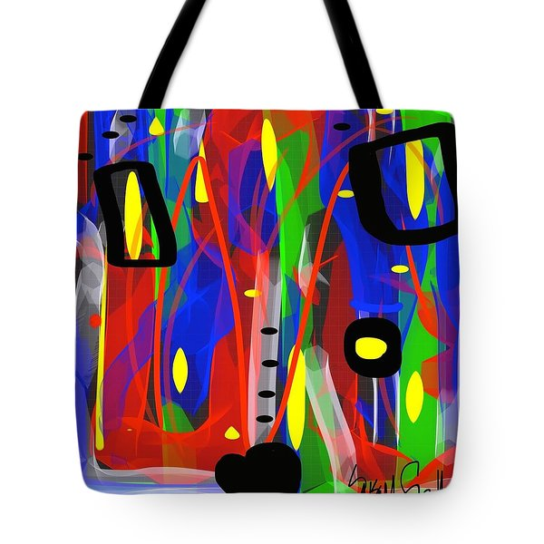 Ribbon Of Thought Tote Bag
