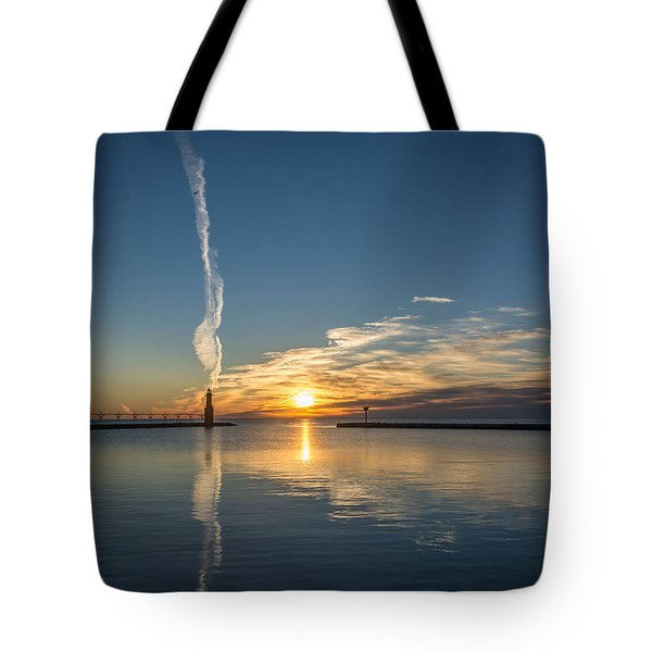 Ribbons In The Sky Tote Bag