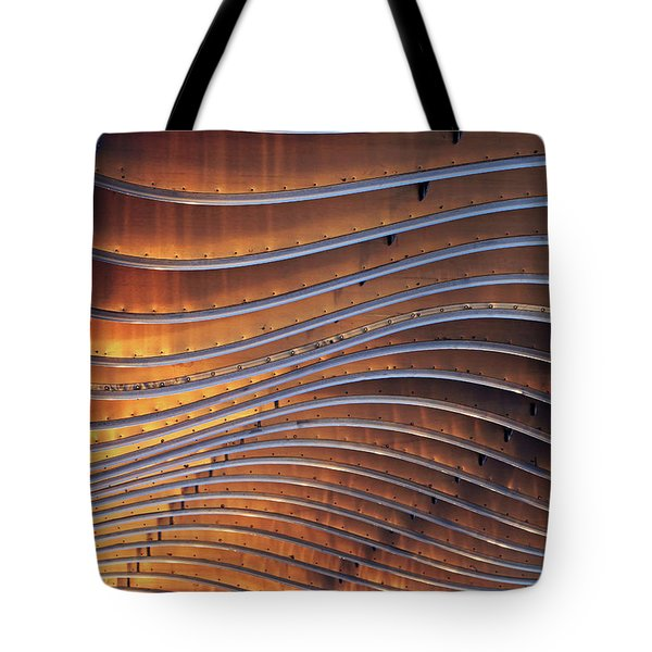 Ribbons Of Steel Tote Bag