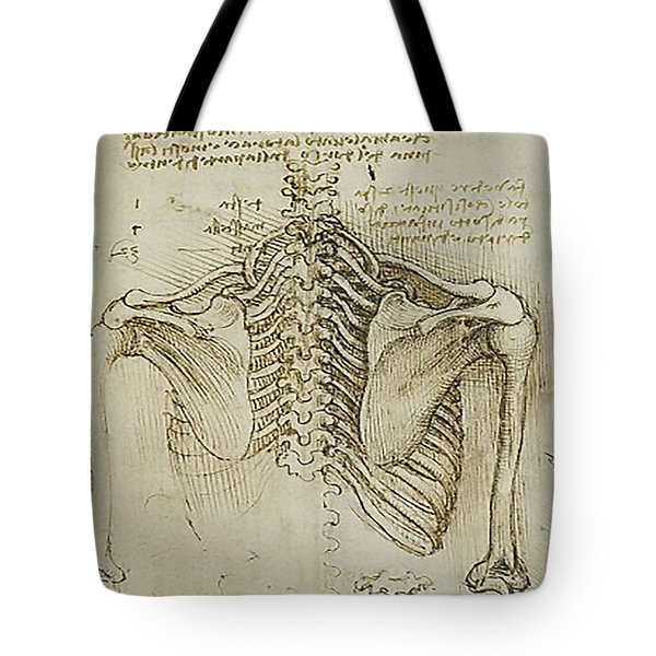 Ribcage Main Tote Bag by James Christopher Hill