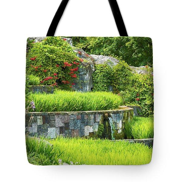 Rice Garden Tote Bag by Wim Lanclus