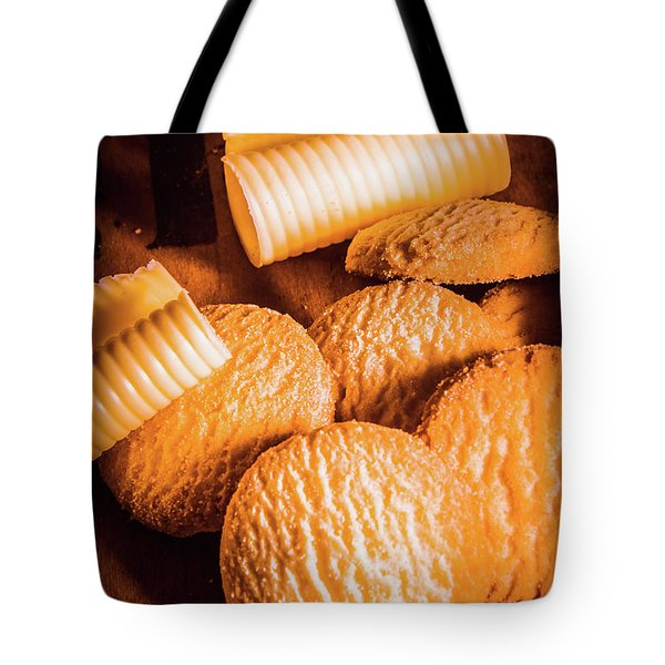 Rich Buttery Shortbread Biscuits Tote Bag