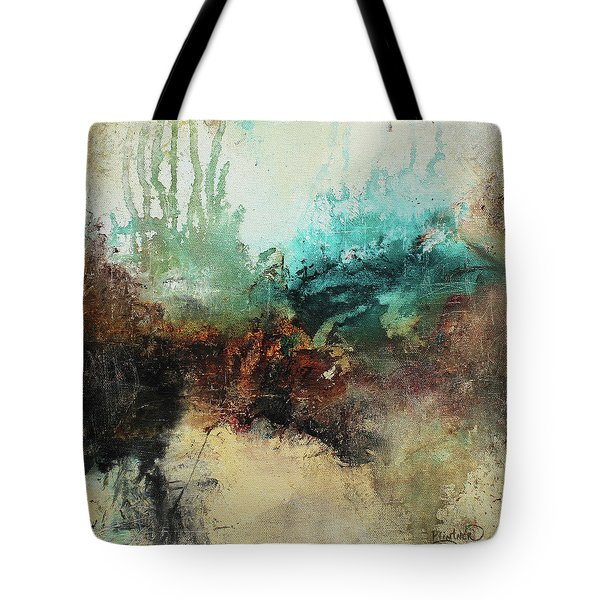 Rich Earth Tones Abstract Not For The Faint Of Heart Tote Bag