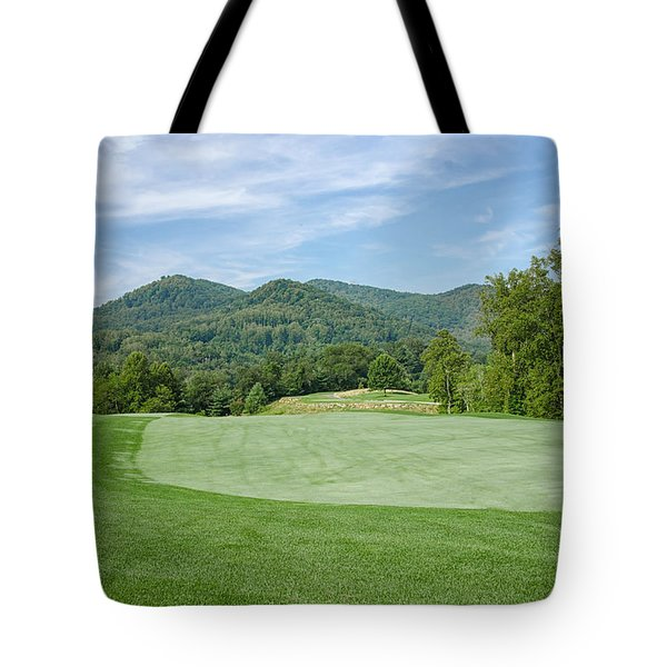 Tote Bag featuring the photograph Lush Green  by Claire Turner