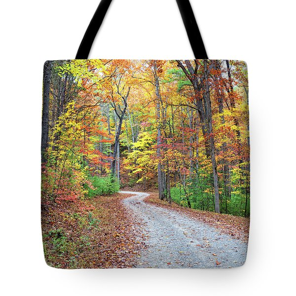 Rich Mountain Road Tote Bag
