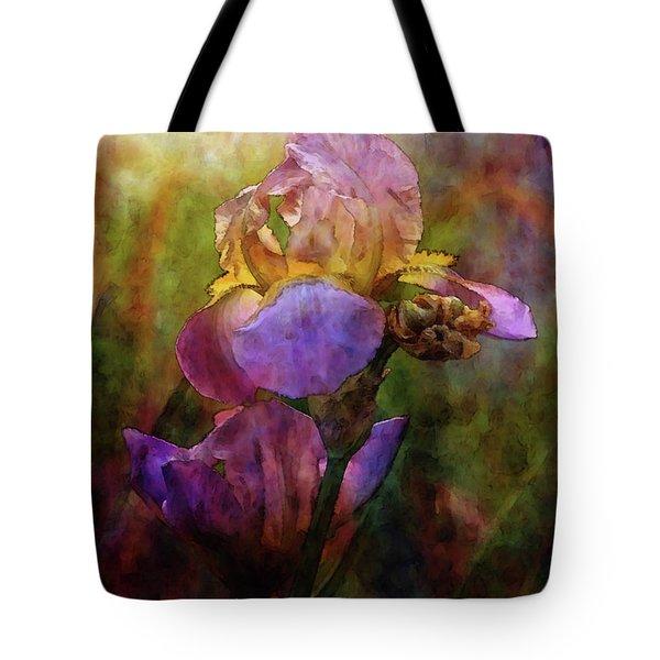 Rich Purple Irises 0056 Idp_22 Tote Bag