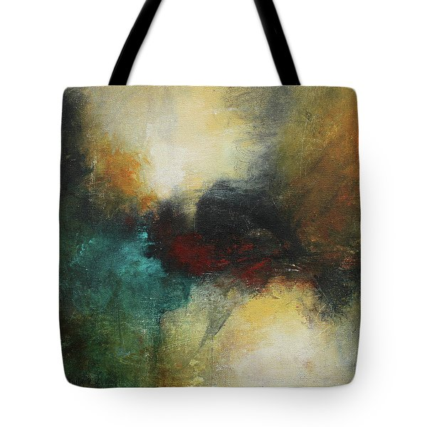 Rich Tones Abstract Painting Tote Bag
