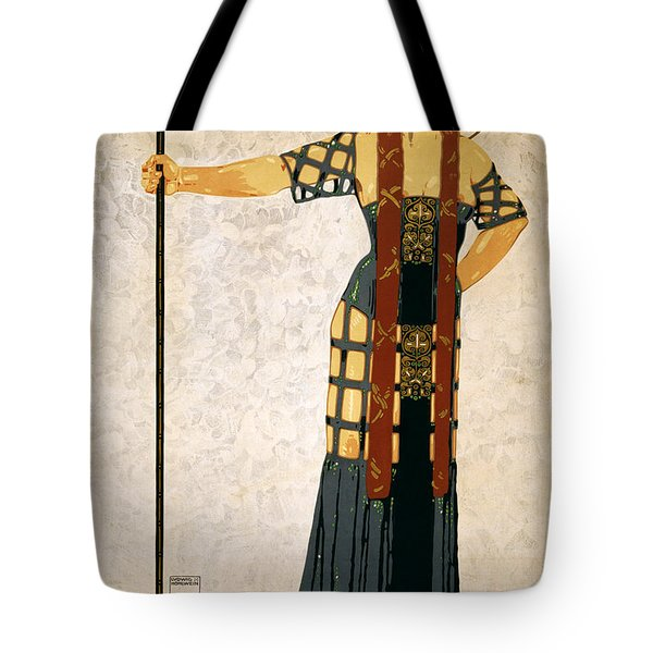 Richard Strauss-woche 1910 Poster Tote Bag