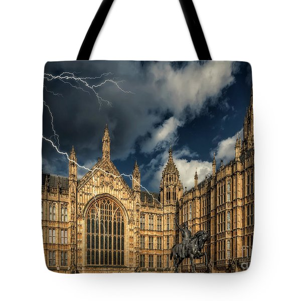 Tote Bag featuring the photograph Richard The Lionheart by Adrian Evans
