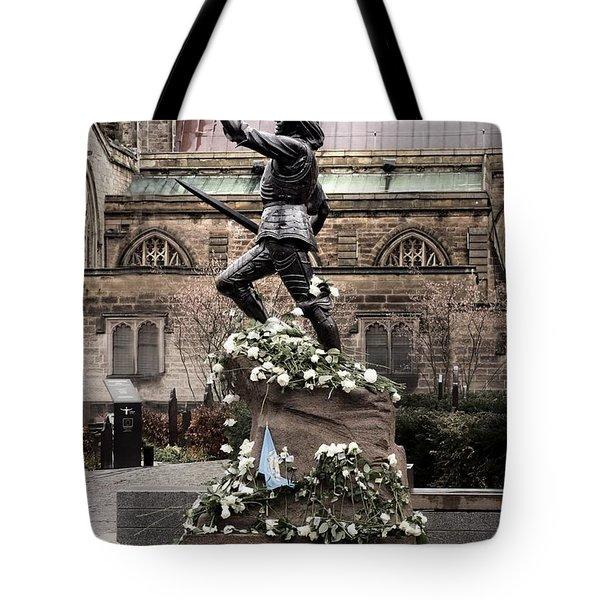 Richard The Third Statue Tote Bag