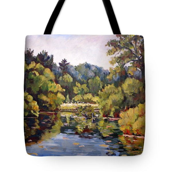 Richard's Pond Tote Bag