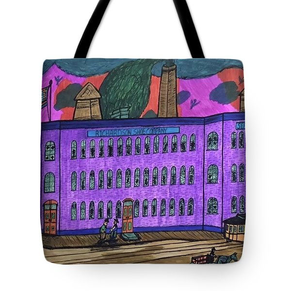 Richardson Shoe Company. Tote Bag