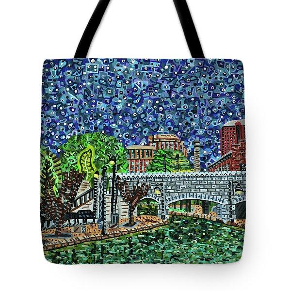 Richmond Canal Walk Tote Bag by Micah Mullen