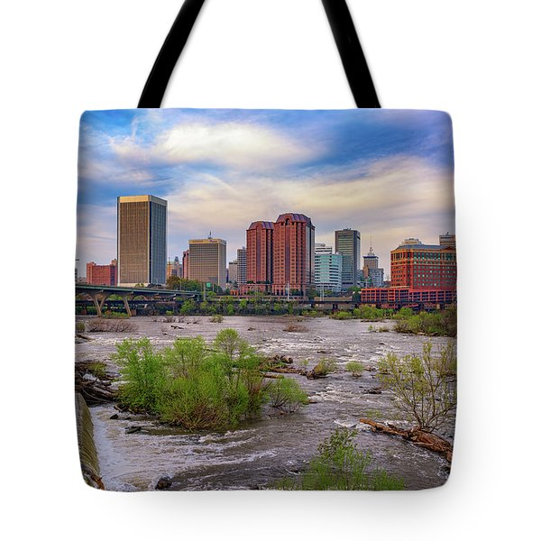 Tote Bag featuring the photograph Richmond Skyline by Rick Berk