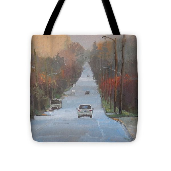Richmond To The Jubilee Tote Bag by Ron Wilson